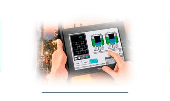 Tablet para gestionar sistema industrial